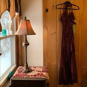 City Triangle floor length gown